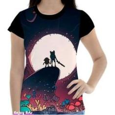 Imagem de Camisa Camiseta Feminina Hora De Aventura Time Finn Jake 17