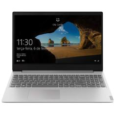 "Notebook Lenovo IdeaPad S145 AMD Ryzen 7 3700U 15,6"" 8GB SSD 256 GB Windows 10"