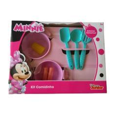 Imagem de Kit Comidinha Infantil Panelinhas Acessórios Minnie Disney - Mielle