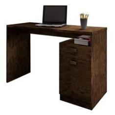 Imagem de Mesa Escrivaninha Para Estudo Delta Avelã Benetil Móveis