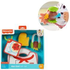 Imagem de Conjunto Infantil Brinquedo Fisher Price Mini Chef Cozinha