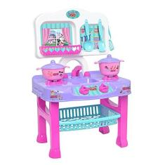 Imagem de Cozinha Infantil Panelinhas Fogãozinho Disney Minnie Menina