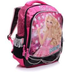 Mochila Escolar Sestini Barbie 20 Litros Barbie Rock N Royals 64345 G