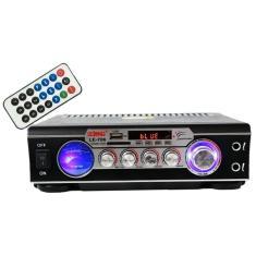 Imagem de Receiver Amplificador de som com 2 canal karaokê e bluetooth