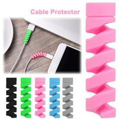 2-10 pces cabo protetor para iphone carregador proteção usb cabo de carregamento cabo protetor