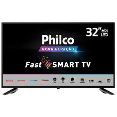 """Smart TV LED 32"""" Philco PTV32N5SE10H 2 HDMI USB"""