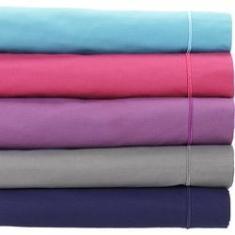 Imagem de Lençol com Elástico Queen Liso Percal 180 Fios 1 Peça - Casa & Conforto New Basics