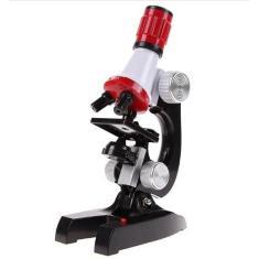 Microscópio Biológico Educacional 100X-1200X