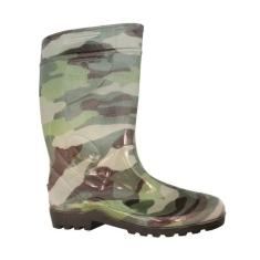 Imagem de Galocha Bota Militar Camuflada Borracha Impermeável Italbotas
