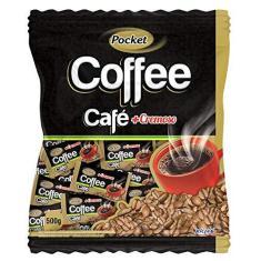 Imagem de Bala De Café Pocket Cremosa Coffee 500g - Freegells