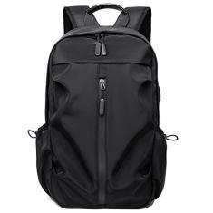 Imagem de Mochila esportiva com porta de carregamento USB feminino masculino bolsa de viagem mochila escolar de negócios para laptop de 14 polegadas