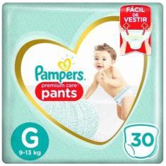 Imagem de Fralda de Vestir Pampers Premium Care Pants Tamanho G 30 Unidades Peso Indicado 9 - 13kg