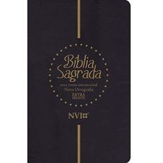 Imagem de Bíblia Sagrada Extra Gigante Preta - Vários Autores - 7897185854015