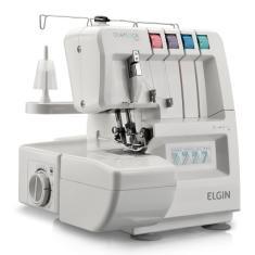 Máquina de Costura Doméstica Portátil Overloque 1000 - Elgin