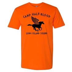 Imagem de Camiseta Camp Half Blood Orange para crianças adolescentes meninos meninas, Laranja, XS