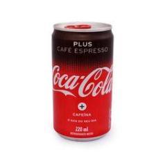 Imagem de Refrigerante Coca Cola Plus Café Espresso Lata 220 Ml