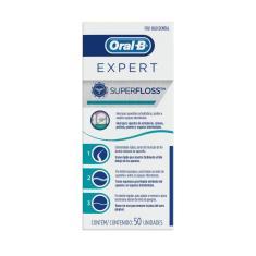 Imagem de Fio Dental Oral-B SuperFloss com 50 unidades 50 Unidades