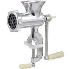 Imagem de Moedor De Carne Alimentos Multiuso Manual Máquina Alumínio