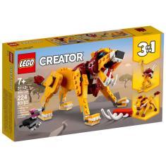 Imagem de Lego Creator 3 em 1 Leão Selvagem Javali e Avestruz 31112