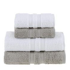 Imagem de Jogo toalha banho Gigante e Rosto Algodão Egípcio 4 peças Buddemeyer
