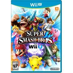 Jogo Super Smash Bros Wii U Nintendo
