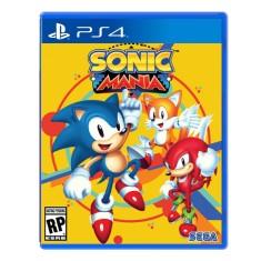 Jogo Sonic Mania PS4 Sega