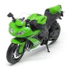 Imagem de Miniatura Metal Moto Kawasaki Ninja Zx 10r - Maisto 1/18 - F