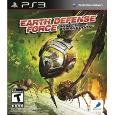Jogo Earth Defense Force: Insect Armageddon PlayStation 3 Vicious Cycle