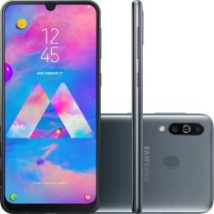 Smartphone Samsung Galaxy M30 SM-M305M 64GB 13,0 MP 2 Chips Android 9.0 (Pie) 3G 4G Wi-Fi