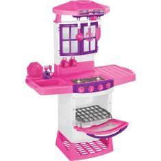 Imagem de Cozinha Infantil Mágica Eletrônica 8011 Magic Toys Com Sons E Luzes