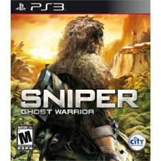 Jogo Sniper Ghost Warrior PlayStation 3 City Interactive