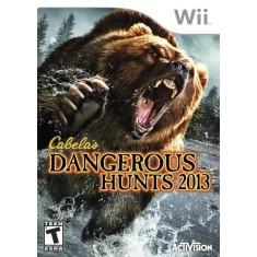 Jogo Cabela's Dangerous Hunts 2013 Wii Activision