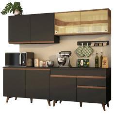 Imagem de Cozinha Completa 1 Gaveta 8 Portas Reims 240001 Madesa
