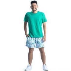 Imagem de Camiseta Masculina Ogochi Básica Verde