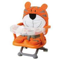 Imagem de Cadeira para Refeição Dican Tigre com Assento regulável Laranja - 6848