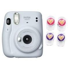 Câmera instantânea Fujifilm Instax Mini 11 Branco + Clip magnético