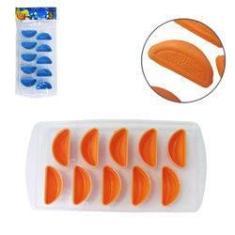 Imagem de Forma De Gelo Com 10 Cavidades Frutas De Silicone / Plastico Colors 22x11,5cm - Trc7274 Top Rio