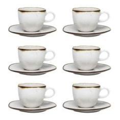 Imagem de Conjunto De 6 Xícaras Grandes Chá 220ml Ryo Maresia - Oxford