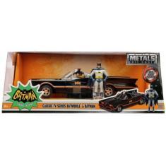 Imagem de Batmovel com Batman e Robin Metals DieCast