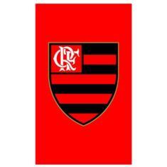 Imagem de Toalha Social Buettner  Veludo  Estampado Flamengo