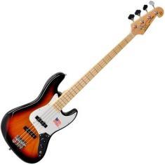 Imagem de Contra Baixo Sx Jazz Bass Sjb75 3ts 4 Cordas Sunburst