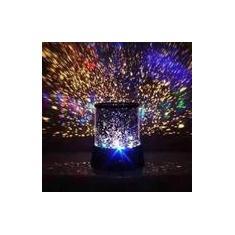 Imagem de Luminária Abajur Projetor De Estrelas - Star Master