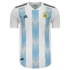 7b7589c5c7 Camisa Argentina I 2018 19 Jogo Masculino Adidas