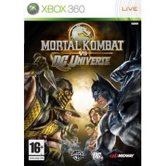 Jogo Mortal Kombat vs DC Universe Xbox 360 Midway