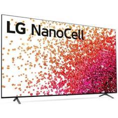 "Imagem de Smart TV Nano Cristal 75"" LG ThinQ AI 4K HDR 75NANO75SPA"