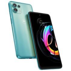Imagem de Smartphone Motorola Edge 20 Lite 5G 128GB Android Câmera Tripla