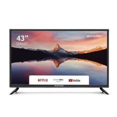 "Smart TV LED 43"" Multilaser Full HD TL015 3 HDMI"