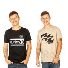 Imagem de KIt 8 Camisetas Masculinas Multimarcas