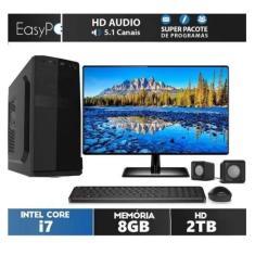 "PC EasyPC 6001 Intel Core i7 8 GB 2 TB Linux 21,5"""
