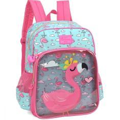Imagem de Mochila Escolar UP4YOU Petit Flamingo GD 3BOLS